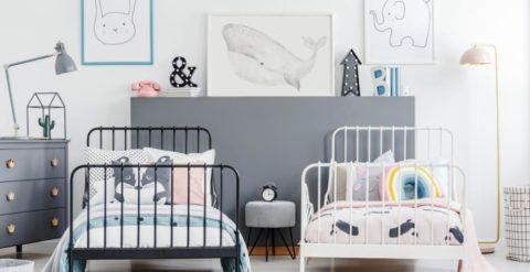 Petits espaces - une chambre pour deux enfants
