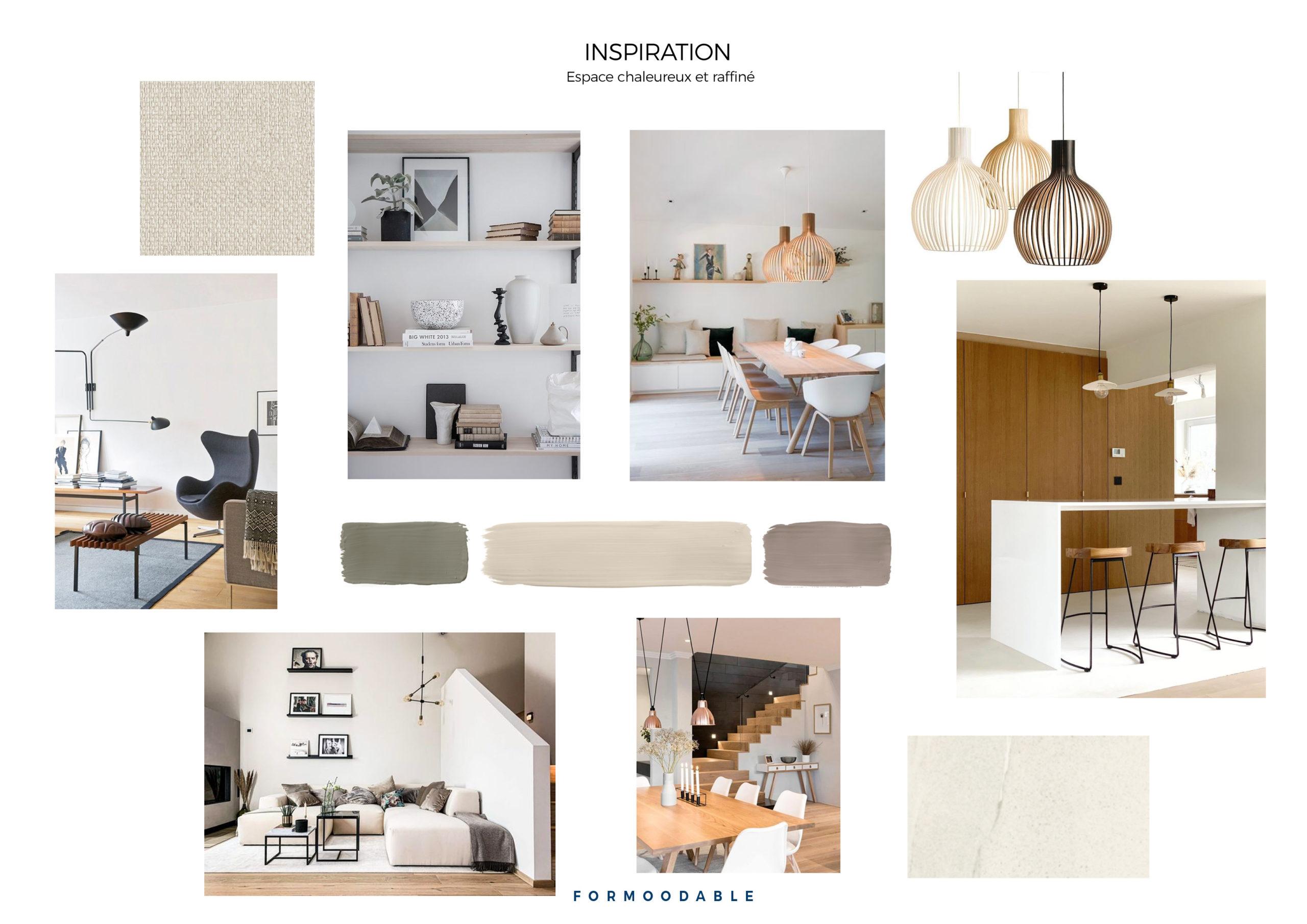 Carnet d'inspiration espace salon / salle à manger